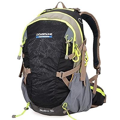 Doleesune Outdoor Hiking Daypacks Climbing Cycling Backpack Hiking Backpacking Packs Waterproof Mountaineering Bag 35l 8103
