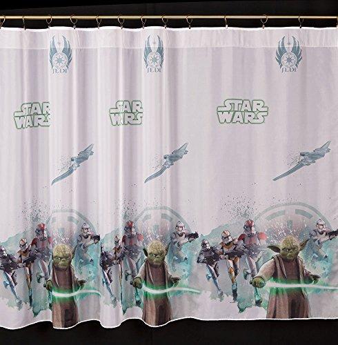 Voilage Star Wars 75 cm de largeur x 145 cm de hauteur