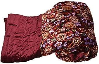 Home Spaces Jaipuri Rajai Velvet Single Quilt