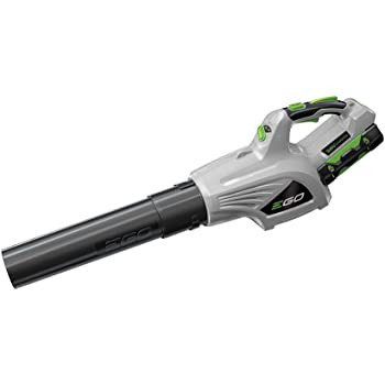 EGO Power+ LB4803 480 CFM 3-Speed Turbo 56V Lithium-ion Cordless Leaf Blower Kit 2.5Ah Battery and Charger Included