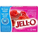 Jell-O Jelly Powder Light, Raspberry, 10g (Pack of 18)