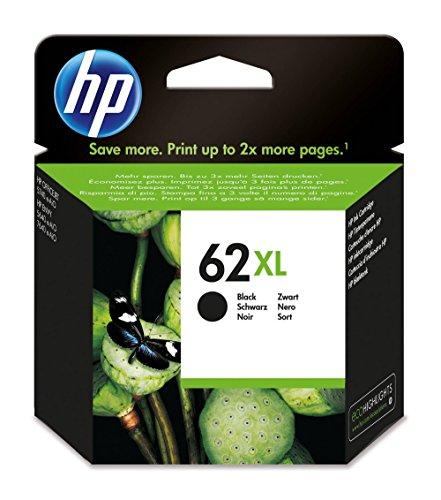 HP 62XL Cartouche d'Encre Noire grande capacité Authentique (C2P05AE)