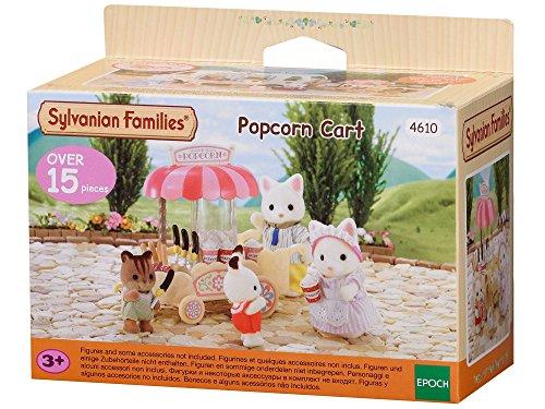 Sylvanian Families - 4610 - Popcorn Cart Mini muñecas y Accesorios