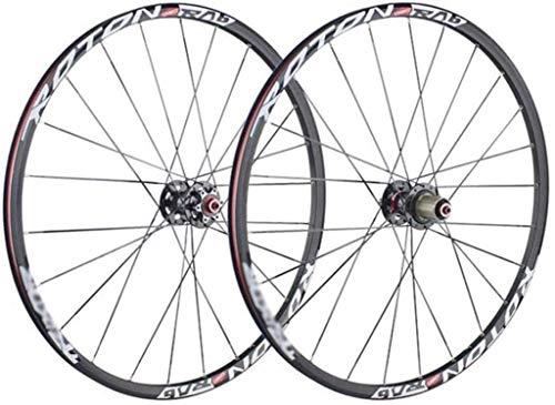 YSHUAI Ruedas de bicicleta de montaña de doble pared de aleación de...