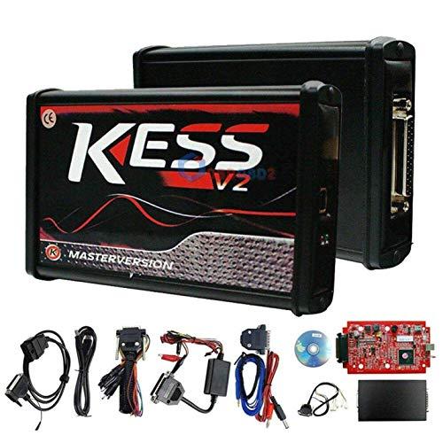 Car Tuning Full Kit Rot-Schwarz Eu Master Online Kein Token Limit Kess V2.47 V5.017 ECU