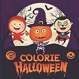 COLORIE HALLOWEEN ENFANTS 3-4 ANS 17 DESSINS: Livre de coloriages d'images d'halloween à colorier pour Enfants de 3 à 4 Ans, 17 Dessins pour filles et garçons.