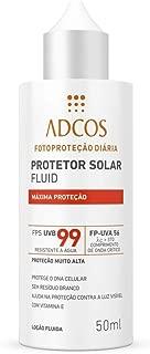 Adcos Fotoprotecao Filtro Solar Fluid Fps99 Incolor 50ml
