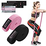 Pull up Bands Resistance Bands - Elastic Bands for Exercise Bands for Working out Long Pull up Assist Resistance Bands Set Workout Bands Resistance for Women Resistance Bands for Women Butt and Legs