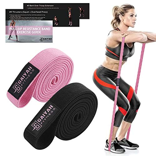 Fabric Long Resistance Bands Set - Full Body Workout Bands Resistance for Women Pull Up Assistance Bands for Weight Training,Resistance Training, Physical Therapy,Home Workouts