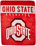 The Northwest Company Ohio State Buckeyes 'Basic' Raschel Throw Blanket, 60' x 80' , Red