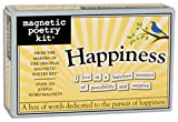 Magnetic Poetry - Happiness Kit - Words for Refrigerator - Write Poems and Letters on The Fridge - Made in The USA