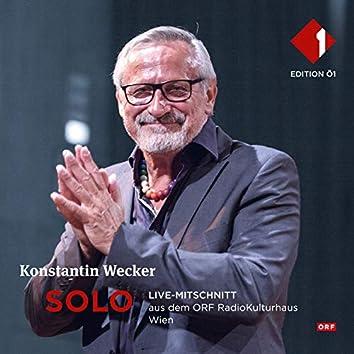Solo (Live-Mitschnitt aus dem ORF RadioKulturhaus)