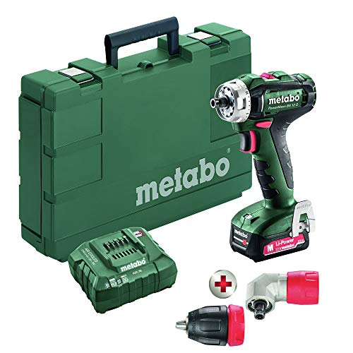 Find Cheap Metabo 601037620 BS 12 Quick 12V Lithium-Ion 3/8 in. Cordless Drill Driver Kit (2 Ah)