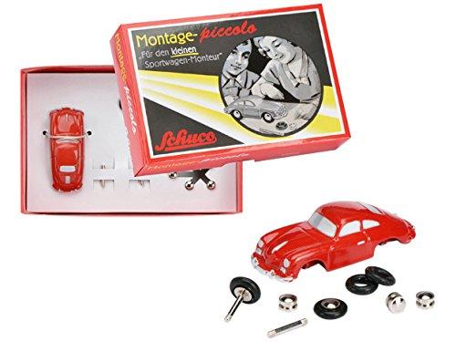 Dickie 450558100 - Modellino di Porsche 356A, da Costruire