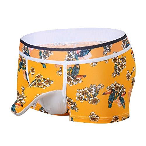 M-2XL Sexy Boxershorts Männer Bequem und atmungsaktiv Underwear Panties Herren Unterhosen Unterwäsche Schlüpfer Unterhose Briefs Underpants CICIYONER