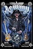 Poster  Plakat - Lemmy - Commemorative   61 x 91 5
