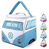 Board Masters Volkswagen Large Soft Sided Cooler Bag - Collapsible Insulated Picnic Lunch Bag with Adjustable Strap (30 Liter) - VW Bus Accessories