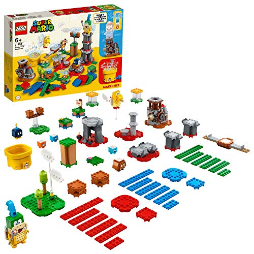 LEGO 71380 Super Mario Master Your Adventure Maker Set, Expansion Set Buildable Game