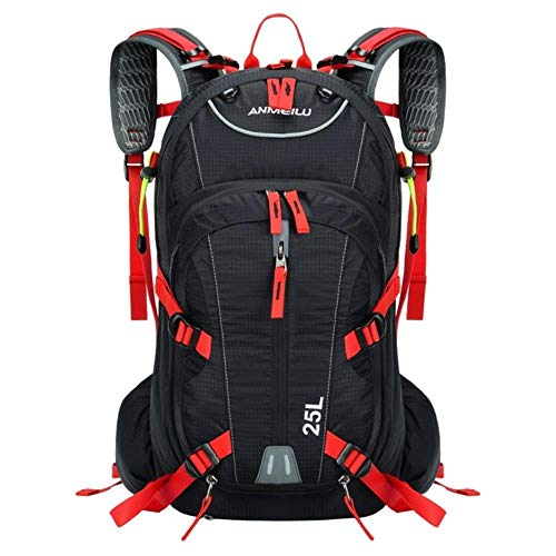Huien 25L Fietsrugzak Fietstassen Schouderrugzak Buitensport Rijden Alpinisme Hydratatie Waterzak, rode kleur