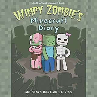 Wimpy Zombie's Minecraft Diary audiobook cover art