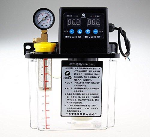 Pompe de lubrification automatique 1,5 L double affichage numérique 6 mm 220 V
