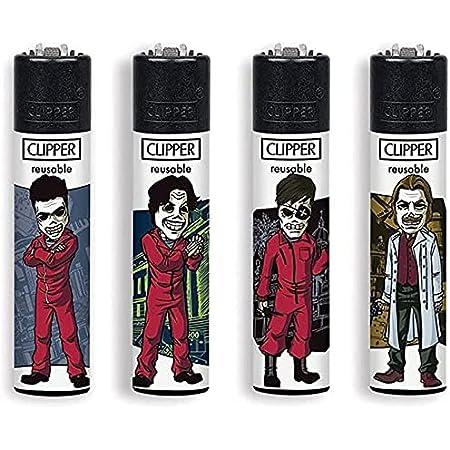 Clipper® - Haus des Geldes #3 - 4er Set - inkl. exkl. CKS Filtertip
