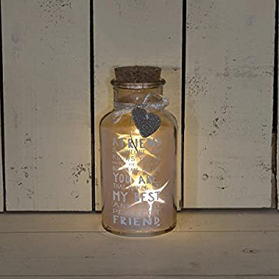 Messages Of Love Perfect Friend Light Up Jar Gift Range Birthday Christmas Gifts