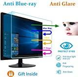 21.5' Eyes Protection Anti Blue Light Anti Glare Screen Protector fit 21.5 Inches Widescreen Desktop Monitor Screen (18.7' x 10.6'). Reduces Digital Eye Strain Help You Sleep Better…