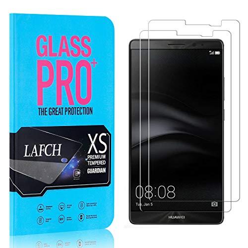 2 Stück Schutzfolie für Huawei Mate 8, LAFCH HD Displayschutzfolie Mate 8, Anti-Fingerabdrücke Gehärtetem Glas Panzerglasfoli