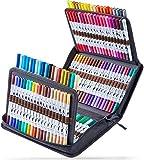 120 Colors Art Markers Set, Ohuhu Dual Tips...