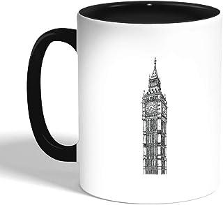big ben Printed Coffee Mug, Green Color
