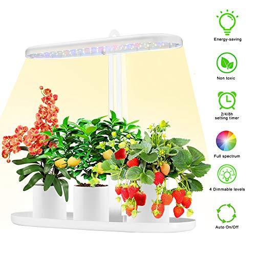 Led Pflanzenlampe Vollspektrum Suspension Pflanzenlicht Pflanzenleuchte Wachstumslampe Grow Lampe Zimmerpflanzen für Gewächshaus Sämlinge und Sukkulenten Gartenbau