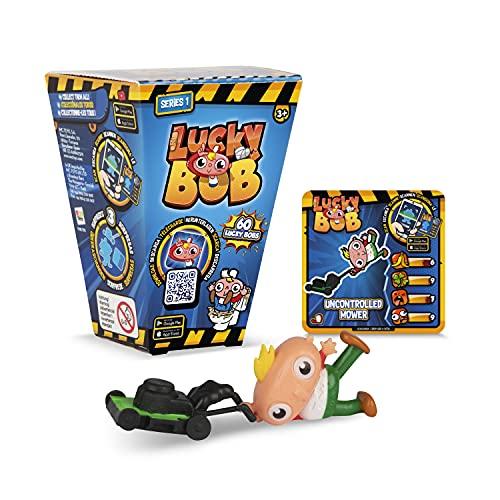 LUCKY BOB Pack 1 Figura divertida sorpresa y coleccionable de Lucky Bob con su Accesorio