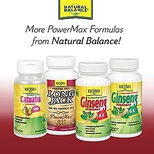 Natural Balance Yohimbe Power Max 1500 Mg Supplements, 30 Count