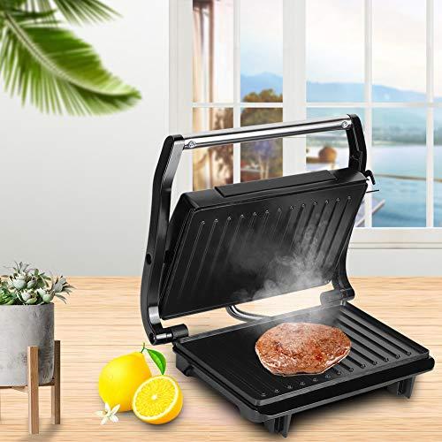 Romantisches GeschenkGrillmaschine Küchenwaren Utensilien, Toast Burger Machine Rauchfreie Fleischbratmaschine Grillmaschine zum Grillen von Steaks für die Küche