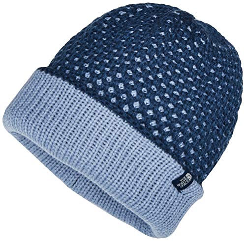 The North Face - Shinsky - Bonnet - Mixte Adulte - Bleu (Blue Wing Teal Birdseye) - Taille Unique