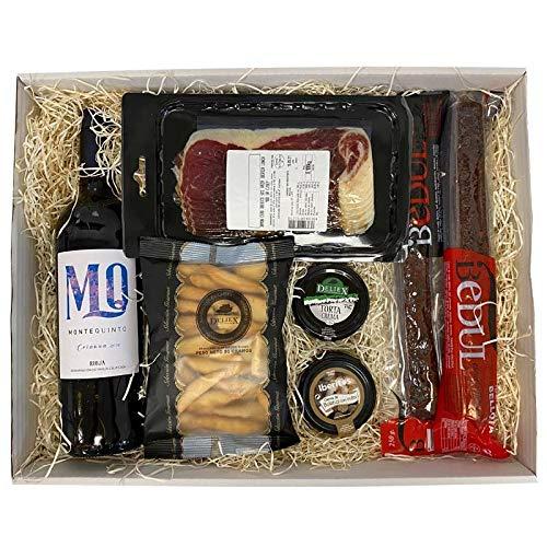 Caja Gourmet Picoteo 14 - De la Tierra con Vino Montequinto crianza ✅