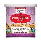 Miss Jones Baking Organic Frosting, Salted Caramel (Pack of 3)