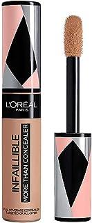 L'Oréal Paris Infaillible More Than Concealer Nr. 329 Cashew, sterk gepigmenteerde concealer met hoge dekking en extra gro...