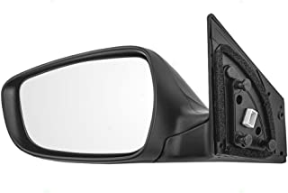 Drivers Power Side View Mirror Heated Signal with Blind Spot Glass Replacement for Hyundai Sedan 87610-3X690 AutoAndArt