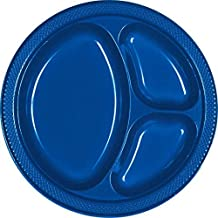 Bright Divided Plastic Plates Supply
