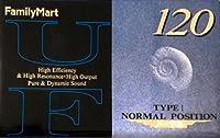 FamilyMart x 日立マクセル カセットテープ UF 120分 UF-120