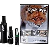 K&S Wildkameras Set de miniatura, diseño de zorros, incluye DVD y gorro K&S