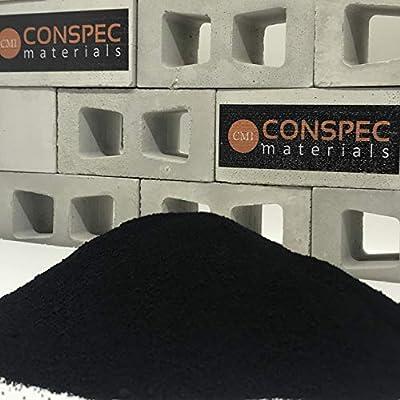 Conspec 5 Lbs. DEEP BLACK Powdered Color for Concrete, Cement, Mortar, Grout, Plaster, Colorant, Pigment