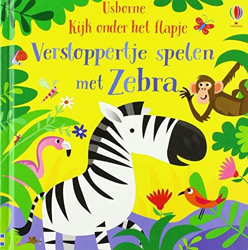 Verstoppertje spelen met Zebra: Kijk onder het flapje