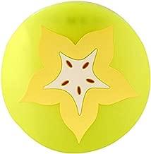Da.Wa 7X Posavasos de Silicona Coj/ín para Vasos de Patr/ón de Rebanadas de Frutas Multicolor