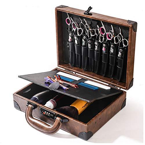 Estuche de peluquería, bolsa de herramientas Almacenamiento grande Peluquería profesional Equipo para el cabello Estuche para herramientas Bolsa de transporte Bolsa de peluquería portátil multifunci