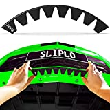 SLIPLO Universal Front Bumper Scrape Guard Skid Plate Bumper Protection for Lowered Cars, Carbon Fiber Splitters and Aftermarket bumper lips, Anti-Scratch DIY Bumper Protector Kit