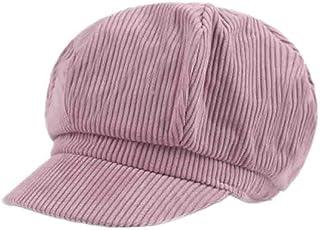 B-HOT B/éret Femme Coton Chapeau Octogonal Casquette Gavroche Artiste El/égant