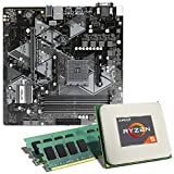 AMD Ryzen 5 1600 [12nm] / ASUS Prime B450M-A Mainboard Bundle / 16GB   CSL PC Aufrüstkit   AMD Ryzen 5 1600 6X 3200 MHz, 16GB DDR4-RAM, GigLAN, 7.1 Sound, USB 3.1   Aufrüstset   PC Tuning Kit